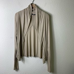 Theory Open Front Cardigan